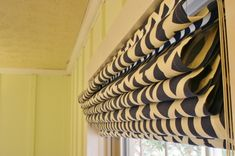 How to make Roman Shades from mini-blinds. Cost effective and beautiful! - Rappsody in Rooms