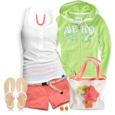 """""""A Walk On The Beach"""" by shannonmarie-94 on Polyvore"""