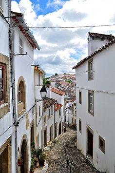 Judiaria em Castelo de Vide, Alentejo, Portugal