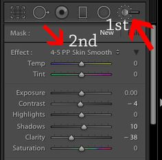 How to Smooth Skin In Lightroom