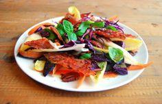 Crunchy wintersalade met pecannoten