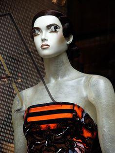 """PRADA,Milan,Italy, """"Mannequin Details"""", pinned by Ton van der Veer"""
