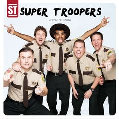 """The Cast Of """"Super Troopers"""" Re-Creates Iconic One Direction Moments. Two of my favorite things !"""