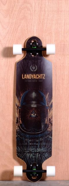 The Landyachtz Drop Speed Longboard Complete is designed for Downhill, Sliding, and Carving.