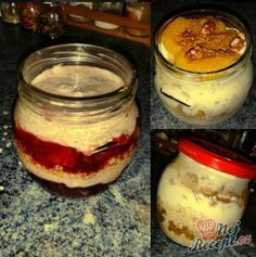 Fitness - Fitrecepty a fitness jídlo (str. 4 z Chia Puding, Low Carb Recipes, Healthy Recipes, Granola, Food To Make, Smoothies, Food And Drink, Pudding, Homemade