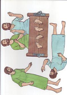 Павел и Сила в темнице