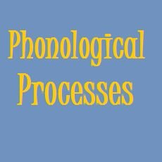 Phonological Processes: What Are They, When Should they Disappear, And What to Do If They Don't!  |  Speech and Language Kids