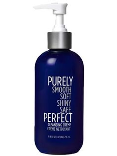 GOING shampoo-less // Pucker & Pout *purely perfect cleansing creme, $40 *ingredients seem pretty clean