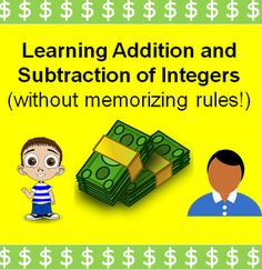 Teaching the Operations of Addition and Subtraction of Int