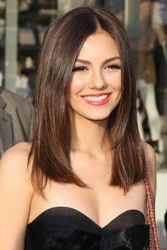 Medium Straight Hairstyles Medium Length Hairstyles For Straight Hair  Hairstyles  Pinterest