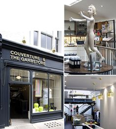 Couverture and The Garbstore - The Shop