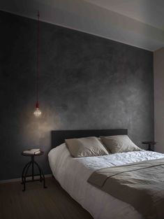 Milan Apartment Renovation Playing with Light and Shadow Home Bedroom, Modern Bedroom, Bedroom Wall, Diy Bedroom Decor, Home Decor, Home Room Design, Living Room Designs, Halloween Living Room, Modern Apartment Design