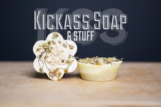 Suffering from Eczema?  Kickass Khamy Soaps Chamomile Oatmeal & by KickassSoap on Etsy
