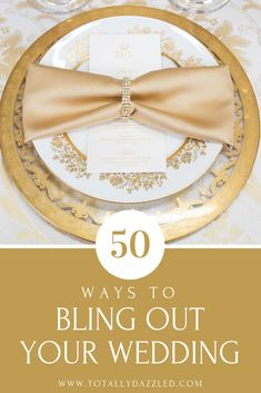 Looking for bling wedding ideas? Grab our FREE GUIDE! 50 Ways to Bling-Out Your Wedding. This guide will help you create the bling wedding decorations. Wedding News, Wedding Styles, Wedding Venues, Wedding Colors, Copper Wedding, Orange Wedding, Gold Wedding, Floral Wedding, Diy Wedding
