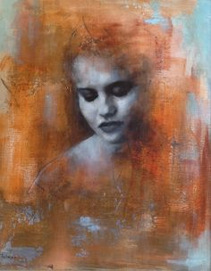 "Saatchi Online Artist: Patrick Palmer; Oil, 2012, Painting ""Portrait of Helena"""