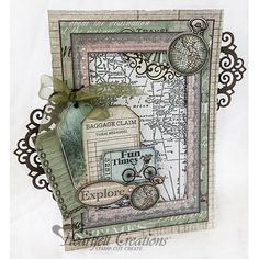 Heartfelt Creations - Time To Explore Project