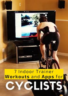 From virtual racing on an imaginary island, to interval training so intense they named it The Sufferfest, these seven training programs have everything you need to stay in tip-top shape when you're forced indoors this offseason. 7 Indoor Trainer Workouts and Apps for Cyclists  http://www.active.com/cycling/articles/7-indoor-trainer-workouts-and-apps-for-cyclists?cmp=17N-PB33-S14-T1-D4--1080