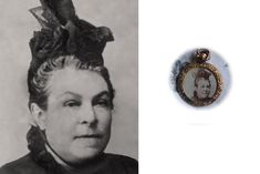 Tiny damaged photograph of an ancestor in mourning from a Victorian locket, restored & enlarged. Photo Repair, Old Photos, Class Ring, Restoration, Photograph, Victorian, Old Pictures, Photography, Antique Photos