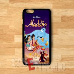 Aladdin Poster - ZlZ for iPhone 4/4S/5/5S/5C/6/6+,Samsung S3/S4/S5/S6 Regular,Samsung Note 3/4