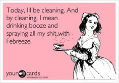 I may throw in some Clorox wipes and a Swiffer. But I doubt it.