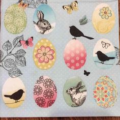 Paper #Napkins, 3 ply, 33x33 cm (or 13x13 inches) for #Decoupage #crafts & #scrapbookibg collection