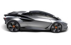 Lamborghini Perdigon, Ondrej Jirec, futuristic car, future vehicle, sportscar, automobile, supercar