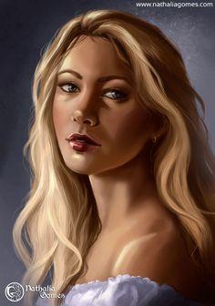 Young Woman by nathaliagomes