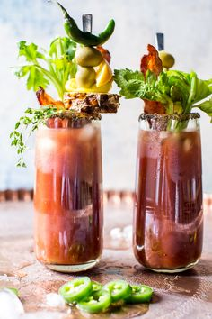 Jalepeno Bloody Mary - Half Baked Harvest - Made with Love