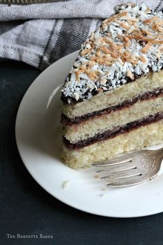 Lamington Cake | The Brunette Baker