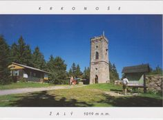 Postcard received from the Czech Republic >> Krkonoše (Giant Mountains/Riesengebirge) >> Žalý