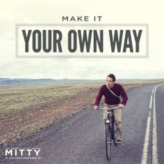 Enjoy the ride. The Secret Life Of Walter Mitty opens in theaters this Christmas. #Mitty