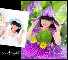 Custom Portrait Flower Fairy Child or Adult by beafairytale