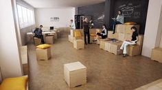 Modular Flexible Furniture For A New Business School In Iran Allowing Them To Change Room Layouts Simple And Effectively On Shoe String Budget
