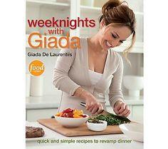 Weeknights with Giada Cookbook by Giada De Laurentiis