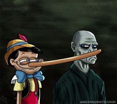 Pinocchio and voldemort Memes Do Harry Potter, Images Harry Potter, Arte Do Harry Potter, Harry Potter Drawings, Harry Potter Fandom, Anecdotes Sur Harry Potter, Hogwarts, Wallpaper Harry Potter, Desenhos Harry Potter