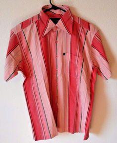 Garlic Mens Shirt Casual Button Short Sleeve Size Large Striped Hawaiian  | Clothing, Shoes & Accessories, Men's Clothing, Casual Shirts | eBay!