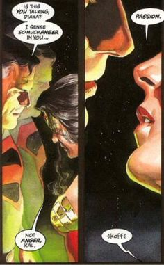Few people know the difference...  Superman and Wonder Woman from Alex Ross's Kingdom Come