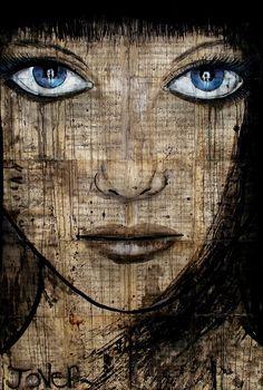 """Saatchi Online Artist: Loui Jover; Pen and Ink, Drawing """"etude"""""""