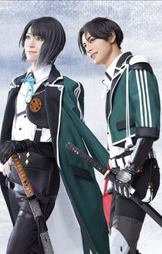 Touken Ranbu, Musicals, Punk, Cosplay, Actors, Anime, Beauty, Style, Swag