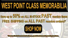 Attention Grads! Save up to 50% on your in-stock class memorabilia! FREE SHIPPING on all past reunion items!