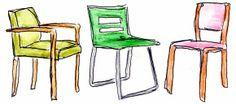 Stühle Illustration