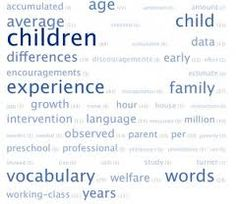 The 30 miilion word gap.. research has proven that children's IQs increase the more words that are spoken to them in the very early years