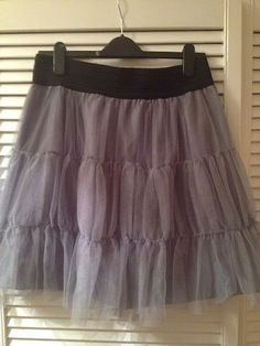 Primark-Grey-Skirt-Size-16 £5 psid