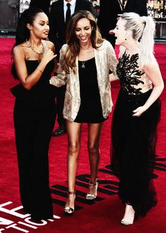 leigh-anne pinnock, jade thirlwall & perrie edwards