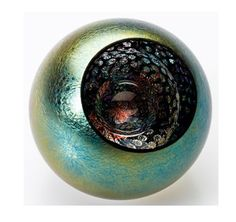 """""""Celestial Universe"""" paperweight by Glass Eye Studio"""