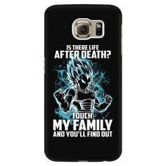 Super Saiyan - Vegeta God Blue protect family - Android Phone Case - TL00886AD