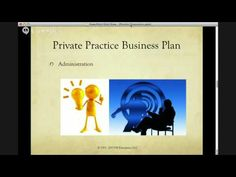business plan counseling private practice