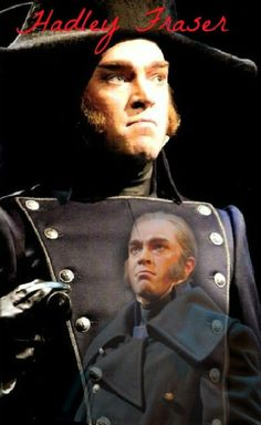 Hadley Fraser as Javert. Doesn't his face just fill you with terror?