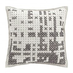 PILLOW ABSTRACT GREY