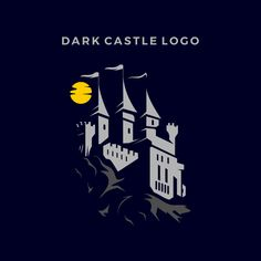 Ui Design Tutorial, Design Tutorials, Castle Drawing, Dark Castle, Best Icons, Halloween Haunted Houses, Vector Photo, Logos, Drawing Reference